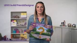 Contest intro video for parents - LEGO Friends Designer - LEGO Friends