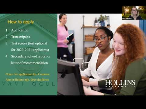 Hollins University Virtual Visit