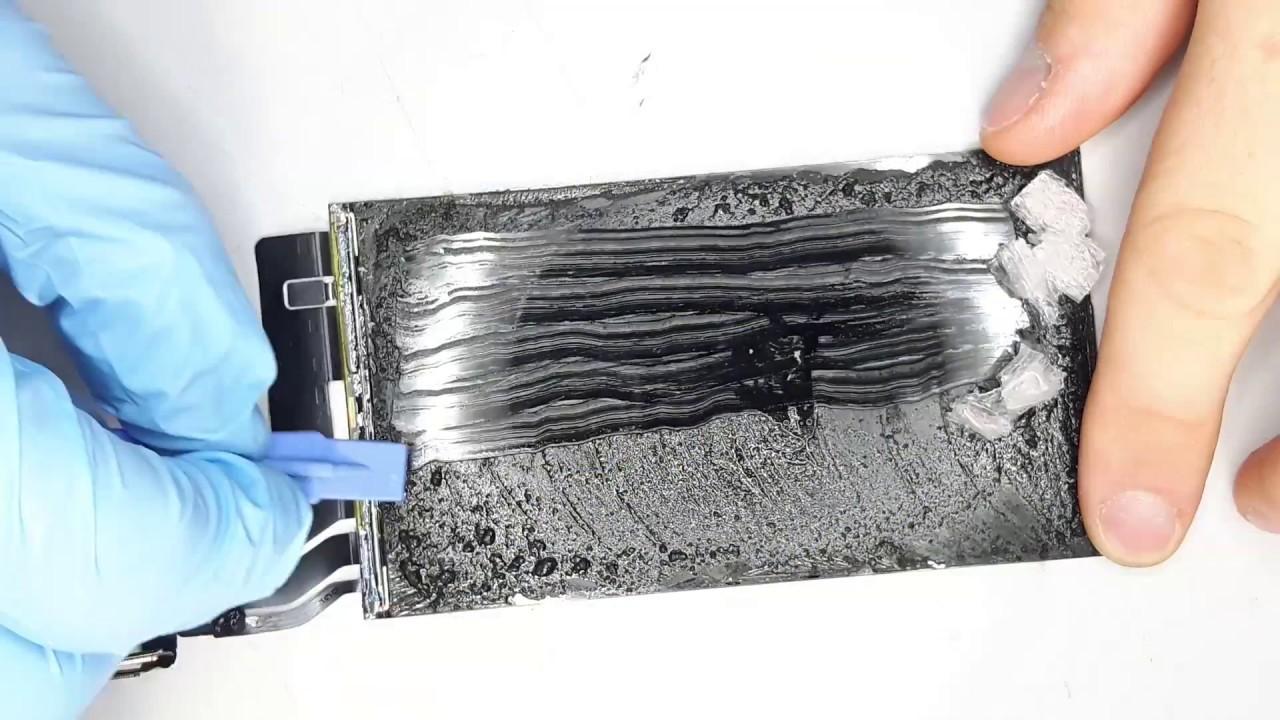 Elegant Klebereste Von Glas Entfernen Ideen Von Iphone 7 Scheibe Display Refurbishen - Wechseln