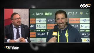Il Commento Di Mister Caserta Al Termine Di Juve Stabia Benevento