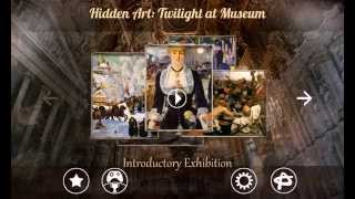 Hidden Art Twilight in Museum - hidden object with world-famous paintings (on iPad, iPhone, Android)