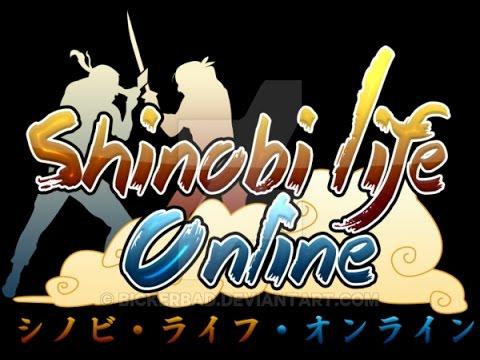 Shinobi Life Online Naruto based MMO & DBOG Live Stream