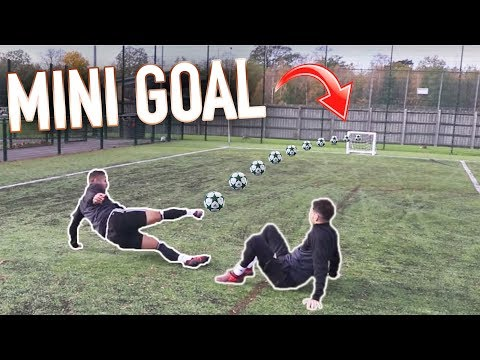 EXTREME ONE TOUCH MINI GOAL FINISHES!
