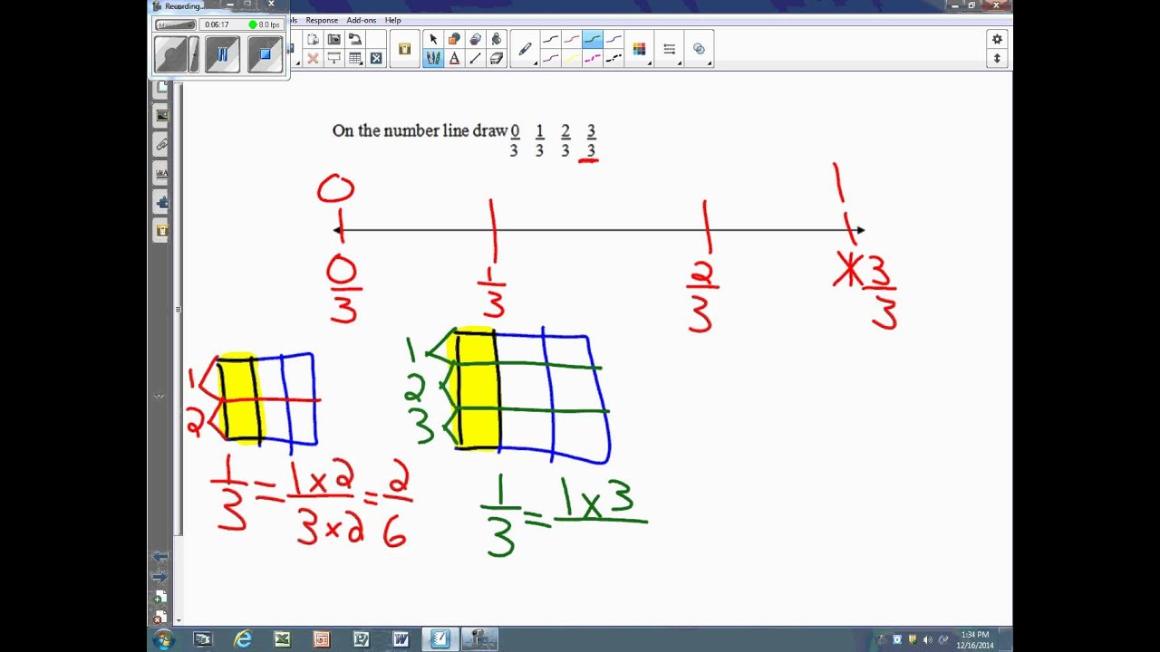Show Equivalent Fractions (examples, solutions, videos
