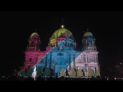 2017 Festival of lights in berlin
