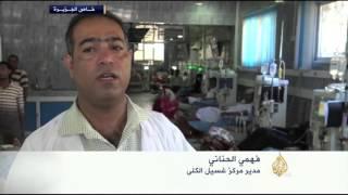 الحوثيون يقصفون مستشفى الثورة في تعز
