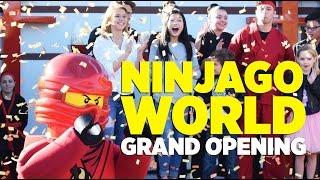 Opening Ceremony for LEGO NINJAGO World at LEGOLAND Florida