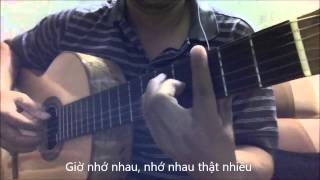 CAY DAN SINH VIEN (My Tam) [Guitar Solo] [K'K]