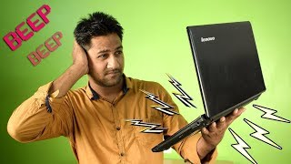 How to Fix Laptop BEEPING on startup Problem - Which Stuck at Booting Black Screen :)