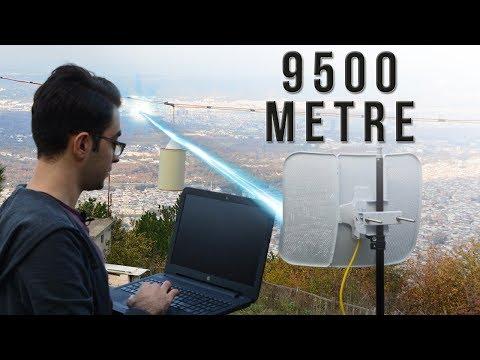 9500 METRE UZAKLIKTAN