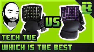 Razer Tartarus v2 vs Orbweaver Chroma Gaming Keypad