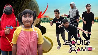 PARODI SQUID GAME! LAMPU HIJAU LAMPU MERAH   Aniq Samad