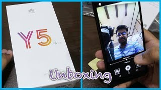 Huawei Y5 Prime 2018 Unboxing & First Look