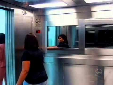 Evil & Scary Brazilian Ghost Elevator Prank - Best Video Quality! - Silvio Santos Show