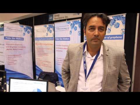 NanoXplore and Graphene - interview at IDTechEx event