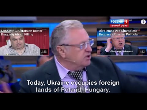 Ukraine occupies territories of Russia, Poland, Romania, Hun