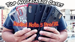 Top Affordable Cases For Redmi Note 5 Pro/ Note 5 AI || Viral Kabir