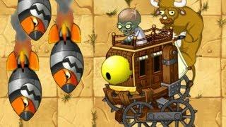 Plants vs. Zombies 2: Zombot War Wagon (Dr. Zomboss wild west boss)