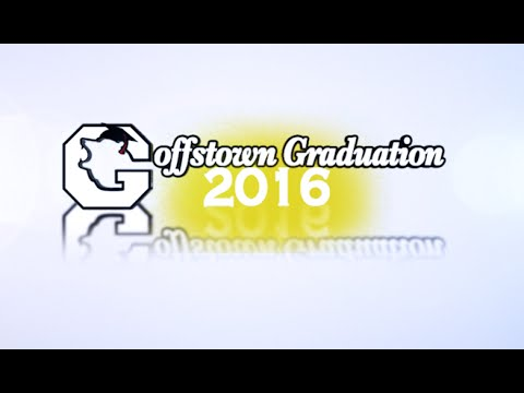 Goffstown High School // Class of 2016 // June 16th, 2016