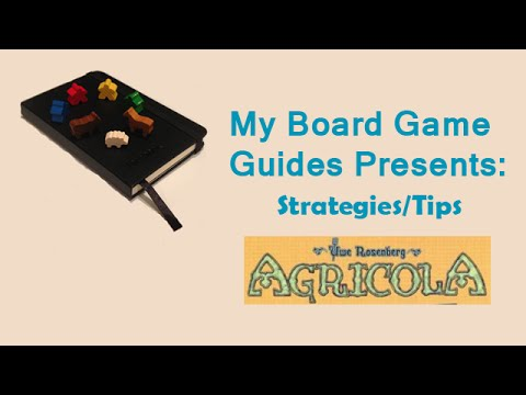 Agricola Strategy Do's and Don'ts