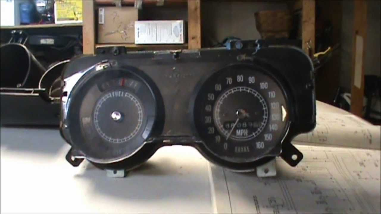 1967 camaro speedometer wiring diagram [ 1280 x 720 Pixel ]