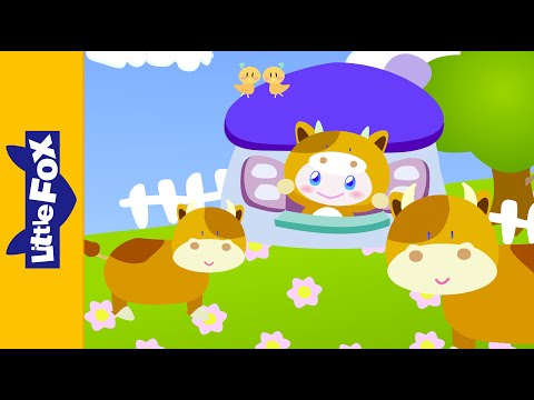 Free Download Moo, Moo | Learning Songs | By Little Fox Mp3 dan Mp4