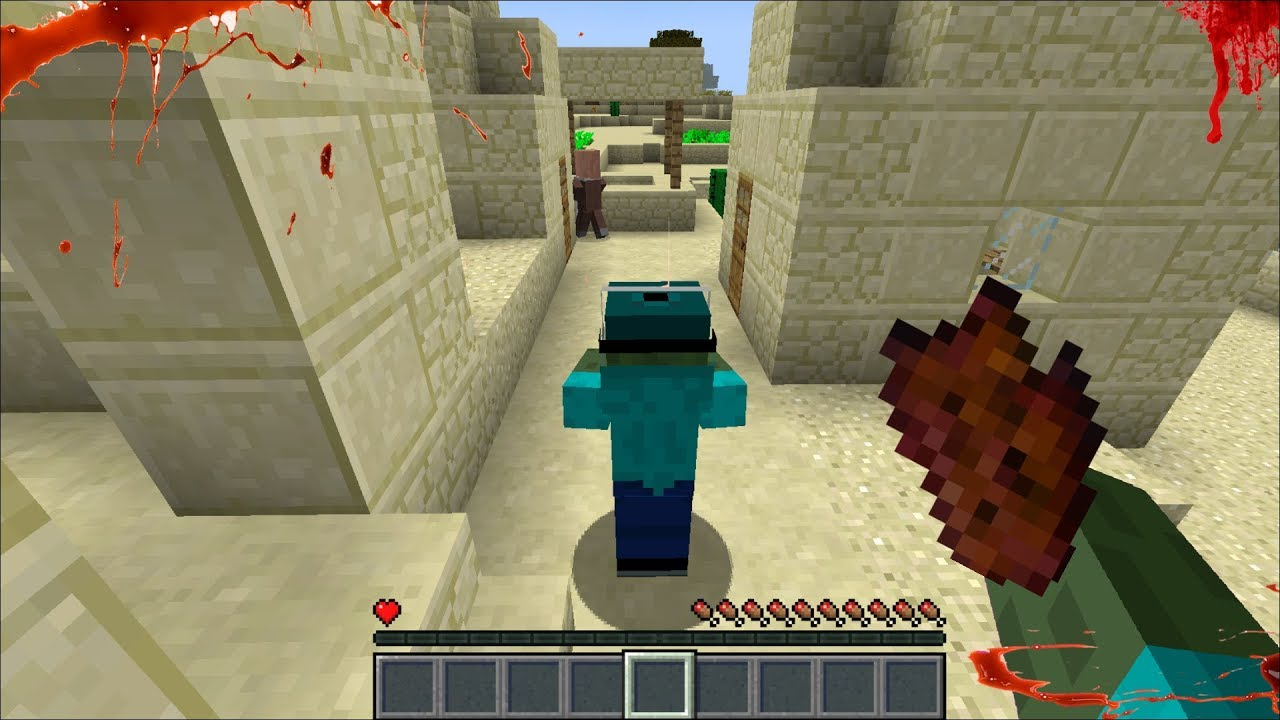 Being Mark Our Friendly Zombie For The Day In Minecraft