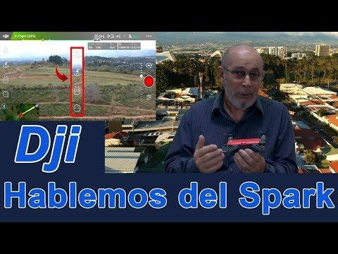 Hablemos del Spark. Símbolos e íconos de la pantalla inicial de Dji Go 4