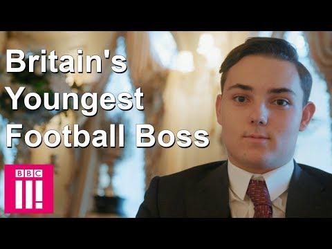 Meet Britains Youngest Football Boss