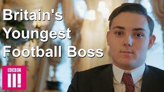 Meet Britain's Youngest Football Boss
