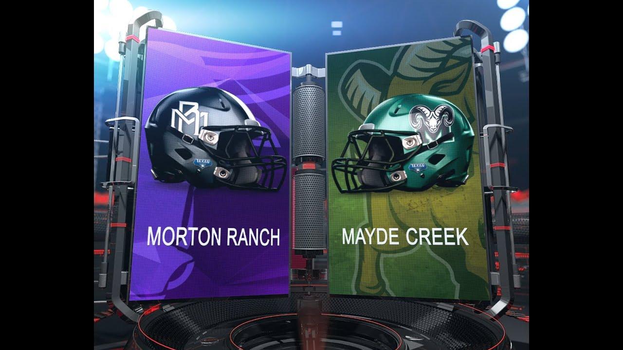 Morton ranch vs mayde creek 2nd quarter 10 9 2015 youtube for Morton creek ranch