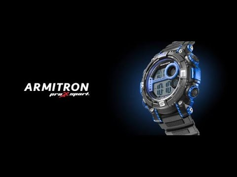 How To Set Time On Armitron Watch Youtube