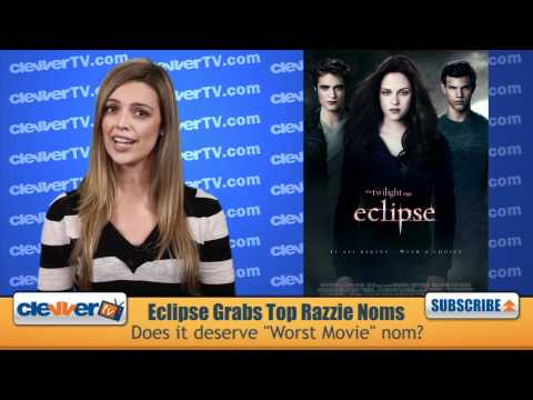 "Eclipse Garners 9 Razzie Award Nominations Including ""Worst Picture"""