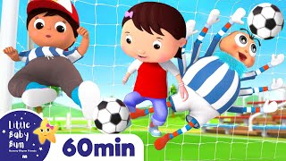 Soccer Song - Sports Song for Kids | +More Nursery Rhymes | ABCs and 123s | Little Baby Bum