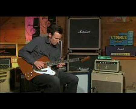 Dave Hunter on Gibson Firebird