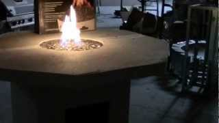 """New 60"""" Octagon Fire Pit Table Kit"""