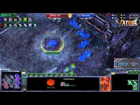 AK (Z) vs Azubu Top (T) - TESL - StarCraft 2 - Season Two Round Robin - G2