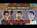 JUARA DUNIA PMSC GLOBAL DI AJAK NGOMONG SUNDA AUTO NGAKAK !!! - PUBG MOBILE INDONESIA Mp3