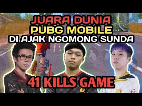 JUARA DUNIA PMSC GLOBAL DI AJAK NGOMONG SUNDA AUTO NGAKAK !!! - PUBG MOBILE INDONESIA
