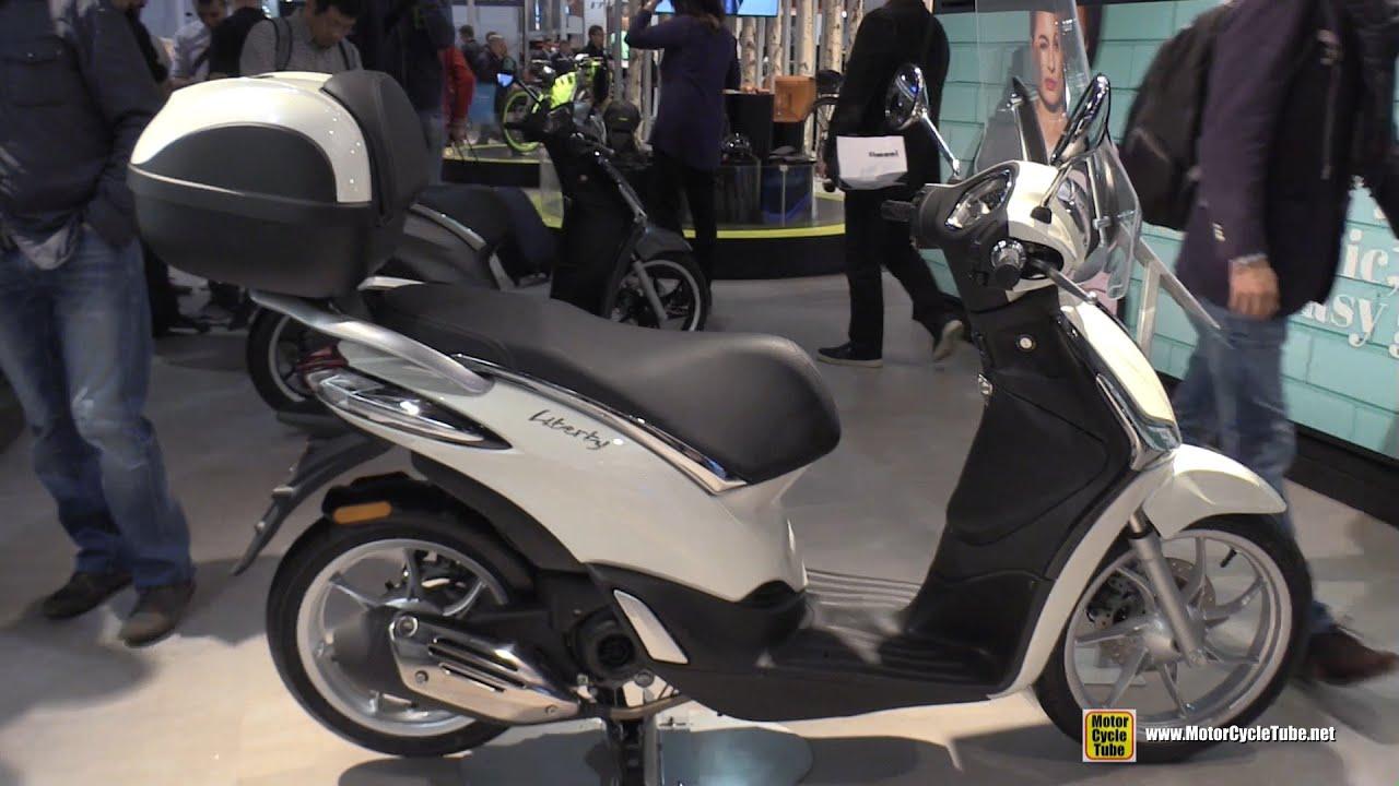 2016 piaggio liberty 50 scooter - walkaround - 2015 eicma milan