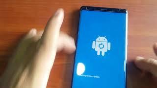 SM-N9500 Galuxy Note8 Reset password Reset Screenlock
