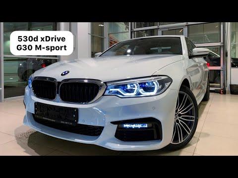 🇩🇪 Презентация BMW 530d XDrive G30 M-sport