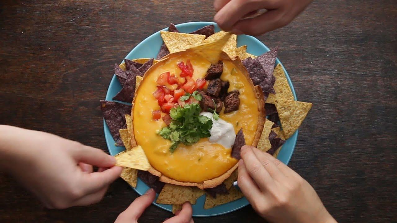 maxresdefault - Loaded Queso Tortilla Bowl