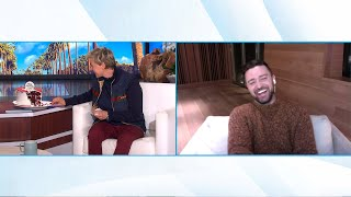 Ellen Celebrates Justin Timberlake's 40th Birthday Early