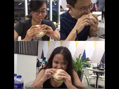 VLOGMAS 2017 DAY #3: Burger Attack! Dining at Red Corner Burger Cafe - SM Lanang Davao City