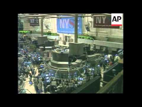 USA: DROP IN UNEMPLOYMENT RATE CAUSES STOCK MARKET TO PLUNGE