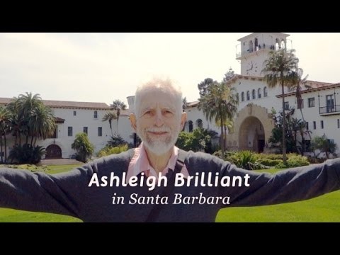 Ashleigh Brilliant in Santa Barbara