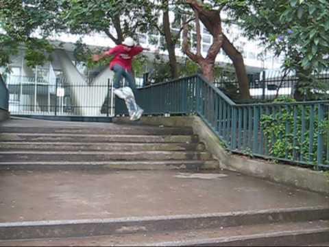 Frontside Flip roubado -  Felipe Muniz