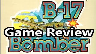 B-17 Bomber Intellivision Intellivoice Game Review - The No Swear Gamer Ep 631