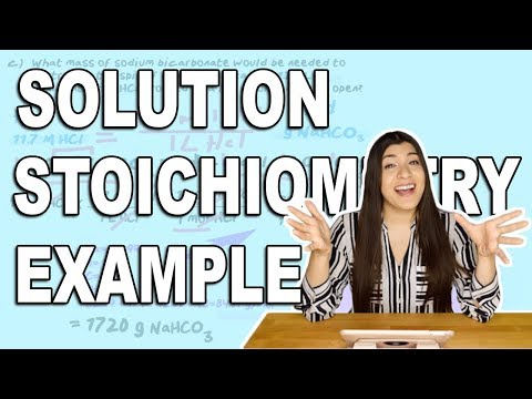 Molarity, Solution Stoichiometry And Dilution Problem